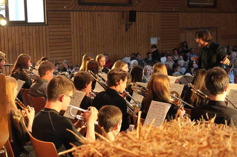 Big Band des Überwald-Gymnasiums