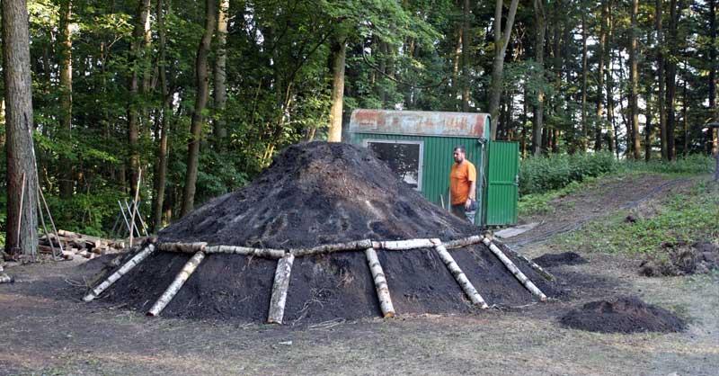 Der Kohlenmeiler