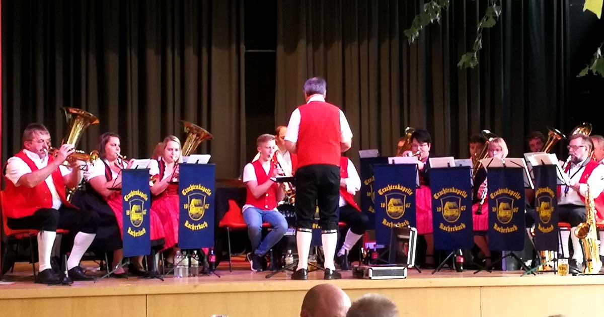 Kerwe in Grasellenbach - Auf der Bühne